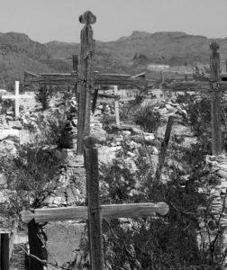 Opuštěný hřbitov